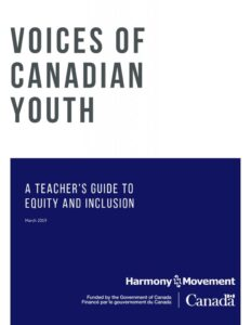 Voices of Canadian Youth Cover