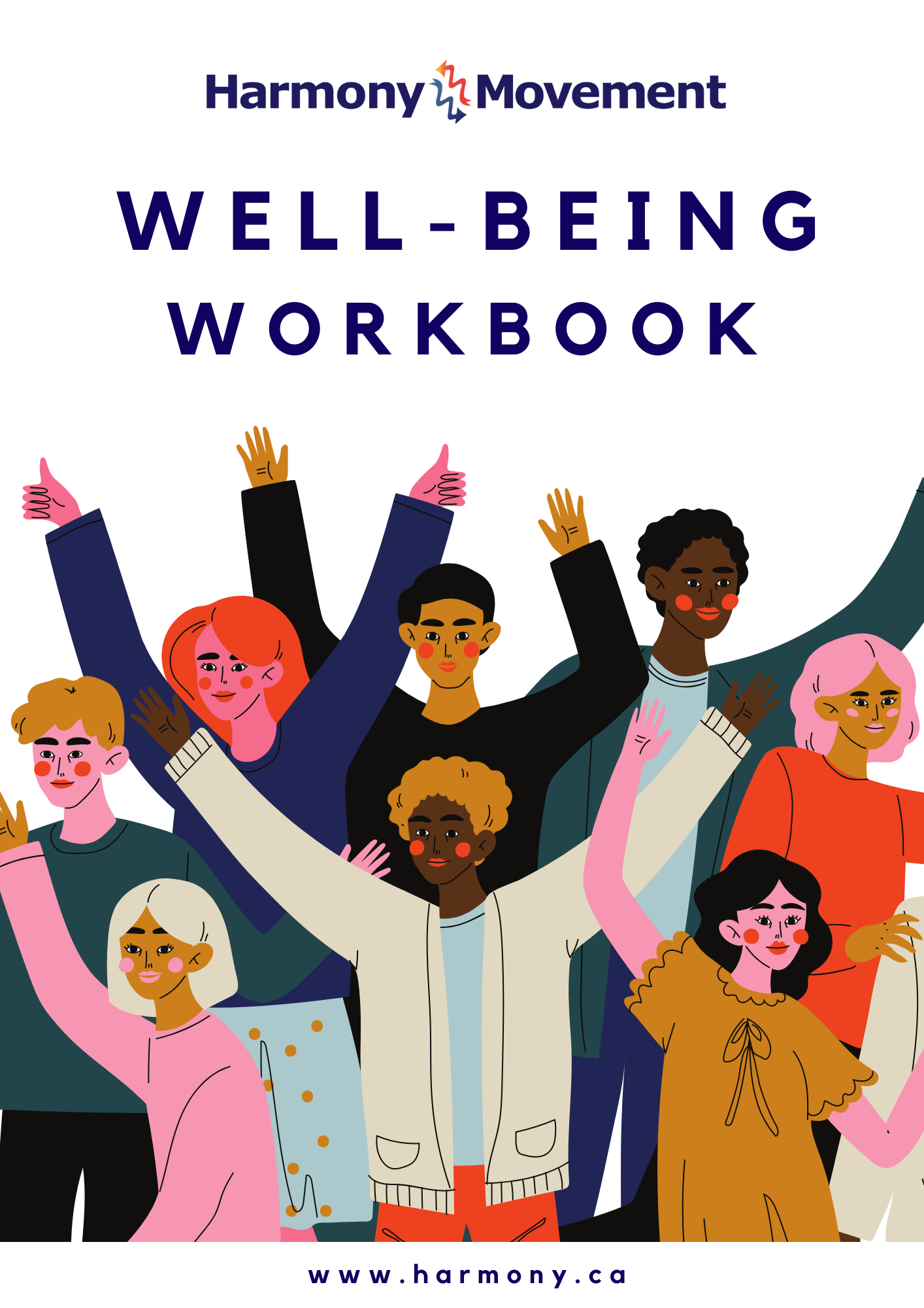 Well-Being Workbook Cover page